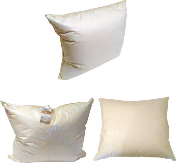 poduszka puchowa trzykomorowa